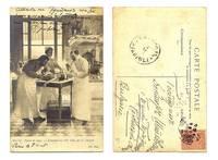 1905 France Child Kid autopsy medic postcard