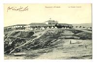 1900 Turkish Macedonia Army Staff postcard RR
