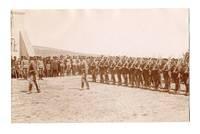 WWI Bulgaria Military Army parade postcard RR
