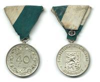 1930 Austria Steiermark 40y Merit medal NICE