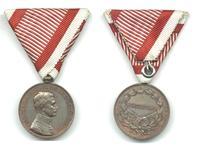 WWI Austria Carol BRAVERY medal bronze 2