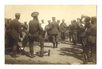 WWI Bulgaria Army military band postcard RARE