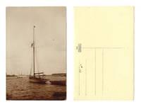 Vintage NAVY marine yacht photo postcard NICE