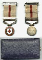1913 British Red Cross BULGARIA clasp medal R
