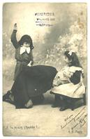 1903 French Erotica SPANKING BDSM postcard ?