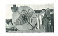 1945 Bulgaria anti NAZI propaganda postcard R