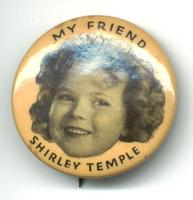 1935 US USA Shirley Temple Movies pin NICE