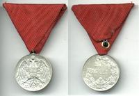 1893 Serbia Royal silver Bravery medal 2 NICE