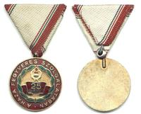 Hungary communist 25 years Republic medal