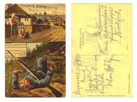 1913 Bulgaria Turkey patriotic postcard occup