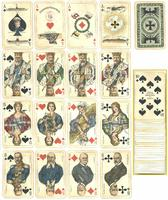 WWI Germany Patriotic war playing cards deck