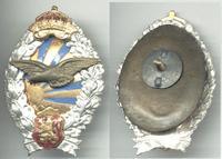WWII Bulgaria Royal pilot badge patch RARE 8