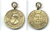 1905 Romania Royal King 40y Jubilee medal RR
