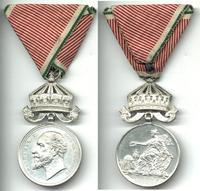 1908 Bulgaria Arts & Science crown medal RR 2
