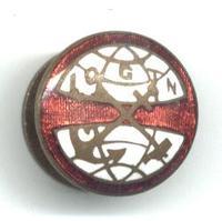 1920 Dutch Netherlands IOGTN templar pin 1