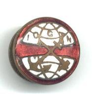 1920 Dutch Netherlands IOGTN templar pin 2