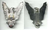 1960 Romania PILOT Aviation 1C badge wings RR
