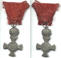 WWI Austria FJ War Iron cross order CROWN 2