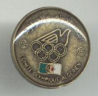 c1980 Algeria NOC Olympic pin badge NICE