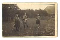 1930 Bulgaria Royal Scouts postcard photo !