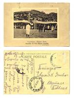 1914 Greece Xanthie Orpheus stadium postcard