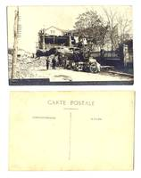 1928 Bulgaria Plovdiv earthquake postcard 2
