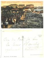 WWI Greek captured German ZEPPELIN postcard 2