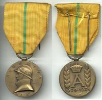 1934 Belgium Royal King 25y Jubilee medal !