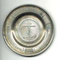c1900 Antique Russian silver church plate !