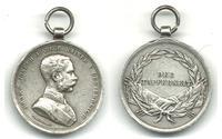 WWI Austria Royal FJ BRAVERY medal silver 4