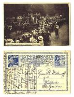 1912 German Liegnitz Beer Fest stationary RR