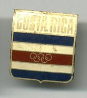 1972 COSTA RICA NOC Olympic pin for Munich RR