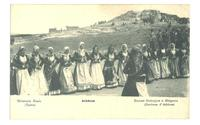 1900 Greece Athens Folk Dance Ethnic postcard