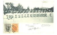1905 Greece Royal Guard photo Athens postcard