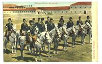 1900 Ottoman Turkey Army Exercise postcard RR