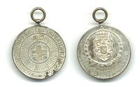 WWI Bulgaria Royal Red Cross silver medal N6
