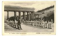 1930 Greece Royal Guard Olympic postcard RARE