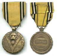 WWII Belgium Royal Victory medal LION V-Day