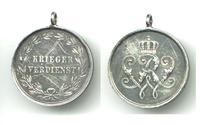WWI Royal Germany Mil. Merit medal SILVER N15