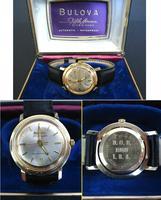 1969 USA BULOVA DoD Vietnam War GOLD watch R
