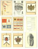 Imperial Russian FLAGS factory book catalogue