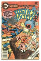 Justice Society Comics SUPERMEN vs. HITLER RR