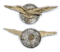 WWII Bulgaria Royal Aviation pilot wings 2 RR