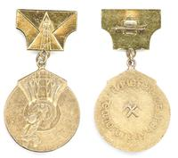 Bulgaria Honorary Geologist Explorer medal RR