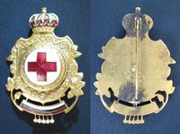 WWII Bulgaria Royal Red Cross badge 4 R issue