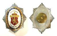Bulgaria Royal Police PERFECT SERVICE badge 2