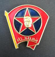 Kurdish Party PKK Ocelan member badge RARE