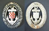 WWII German Croatia NAZI NAVY LEGION badge RR