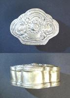 Ottoman Turkish silver flower tobacco box 10