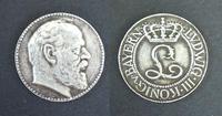 WWI Germany Bayern Ludwig III silver medal RR